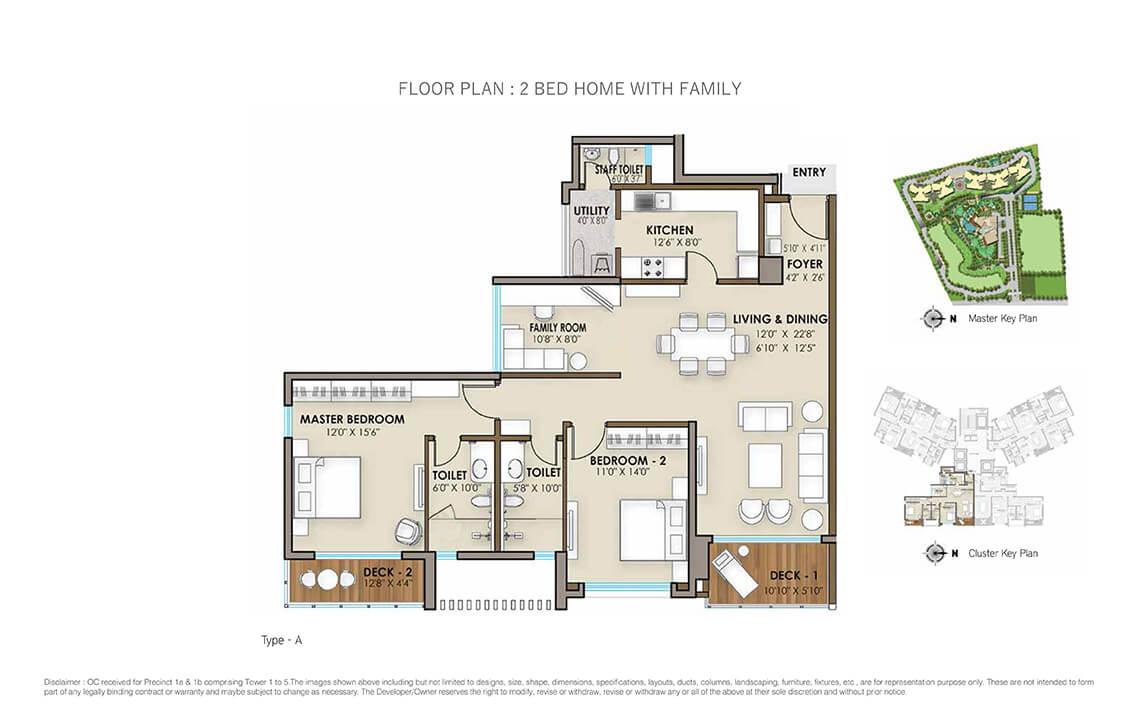 3 Bhk & 4 Bhk Luxury Residential Flats In